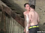 Hot gay sex Horny guy Sean McKenzie is already corded u