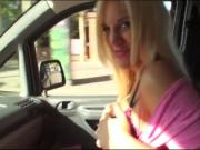 Big ass and busty teen Blondie Feser gets railed in the