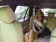 Female fake taxi driver has lesbian action