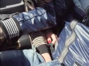 Hot teen hitchhikes and boned in the car