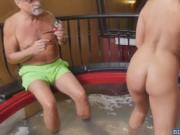 Duke bent Kenzie over and fucked her real nice and good