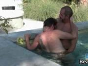 Bjorn Larsson and Lee West fucking in the spa by BearFl
