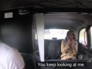 Czech blonde lady bangs in fake taxi
