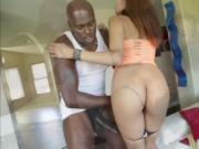 Ebony babe Serena Ali sweet ass fucked to pefection