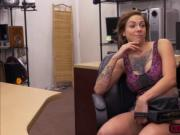 Tattooed babe Harlow Harrison trades bigtits for money