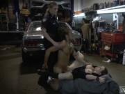 Male cop strip search Chop Shop Owner Gets Shut Down