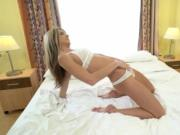 Petite Gina Gerson takes a leak and sucks and fuck hard