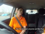 Petite amateur fucks driving instructor