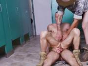 Naked military gloryholes gay Good Anal Training