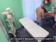 Busty nurse takes big cock in hospital