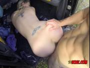 Blonde Slut Melody Pleasure Gets Humped And Creamed