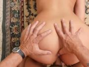 Daddy birthday and old man young girl gang bang rough C