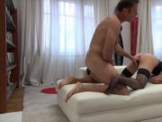 Tight slut Linda Leclair anal pounded