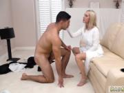 Blonde milf phone Brother Rey has a filthy little secre