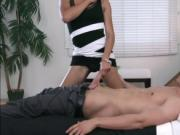 Hot Asian TS Venus enjoys ass banging in doggystyle pos