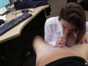 Creampie girl white guy Foxy Business Lady Gets Fucked!