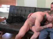 Hot hunk gets his cock pleased