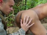 Soldier suck boy cock story gay Jungle boink fest