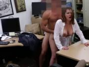 Pawn shop massage and public blonde 1 Foxy Business Lad