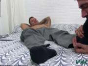 Feet up while sex gay porn and male models penis movie