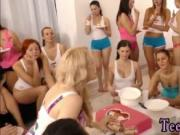 Hot german blonde anal first time 40 women came over to
