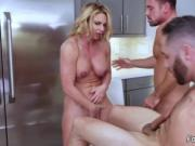 Teen anal tease Army Boy Meets Busty Stepmom