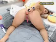 Take Full Control GOVIBRA Toy In Tight Action Blonde Ch