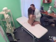 Huge boobs English patient bangs Czech doctor