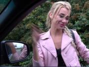 Dude banged blonde Russian hitchhiker