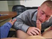 Straight guys gang bang fag gay Keeping The Boss Happy