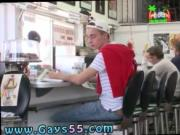 Mens big boners in public gay porn Dinner Head
