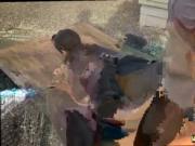 Butt fuck threesome Break-In Attempt Suspect has to boi