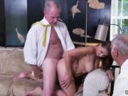 Old skinny mature first time Ivy impresses with her hef