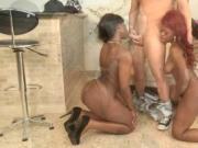 Ebony slut gets annihilated