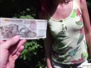 Curry babe Shonma River fucks a stranger for cash