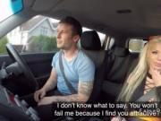 British busty driving examiner fucking