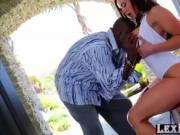 Big tits big ass Kendra Lust gets hammered by Lexington