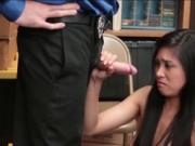 Ember Snows tight pussy getting toss up so fucking hard