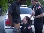 Big black ass fuck and milf nylon Why are we cops if we