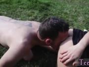 Blonde model hd Vanda picked up and porked outdoors