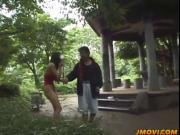 Slutty Minami Aikawa walks in lingerie and sucks dick i