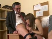 Sweet pleasuring for teacher