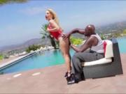 Bigtits babe Ashleys interracial anal sex with Lex bbc