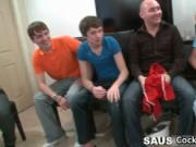 Group of horny guys crave for cock 5 by CockSausage