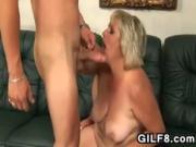 Fat Granny Wants Young Cock