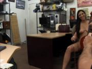 Hottie pawns her Cello and gets pounded by horny pawnke