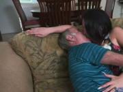 Aria Rose gives Frankie a hot rim job