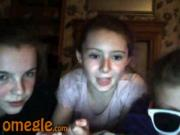 Omegle Girls flash their Panties