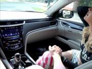 A heated fuck inside the car with shoplifting rebel Uma
