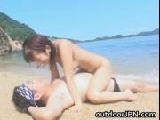 Super hot Japanese babes doing weird sex acts hardcore